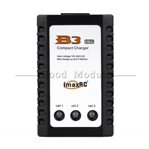 iMaxRC iMax B3 Charger Pro 2S 3S Lipo Battery Balance Compact for RC Helicopter