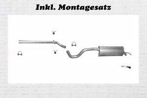 Skoda-Roomster-1-2-1-6-1-9-TDI-Auspuffanlage-Endtopf-Mittelrohr-Montagesatz