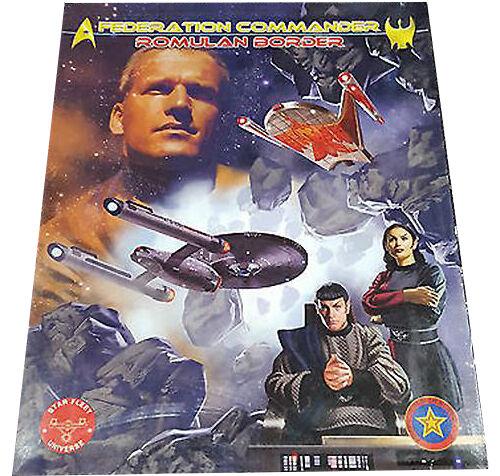 Federation Commander Romulan Border By Gelb Design Bureau ADB 4002
