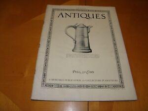 Antiguedades-Revista-V2-2-August-1922-Muebles-Relojes-Textiles-Cristaleria-Art
