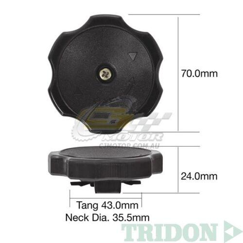 TRIDON OIL CAP FOR Mitsubishi Lancer CY-EVO IX 08//05-09//07 4 2.0L 4G63