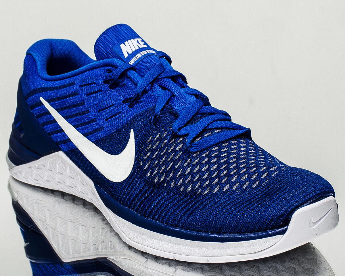 Nike  Flyknit hombres formación tren Metcon DSX Gimnasia Zapatos  Nike Nuevos Azul Real 852930402 e37078
