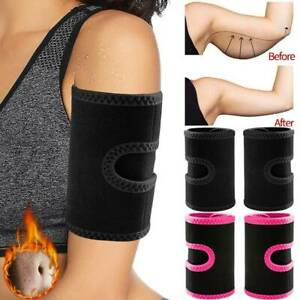 New Arm Trimmers Sauna Sweat Band for Women Sauna Effect Arm Slimmer Body Shaper