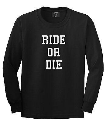 Kings Of NY Ride Or Die New York Pullover Hoodie Sweatshirt