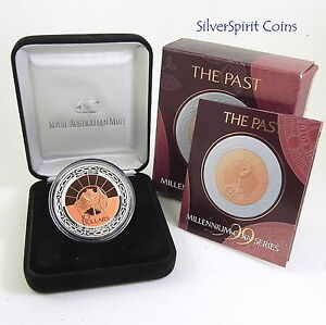 1999-MILLENNIUM-SERIES-THE-PAST-Silver-Proof-Coin