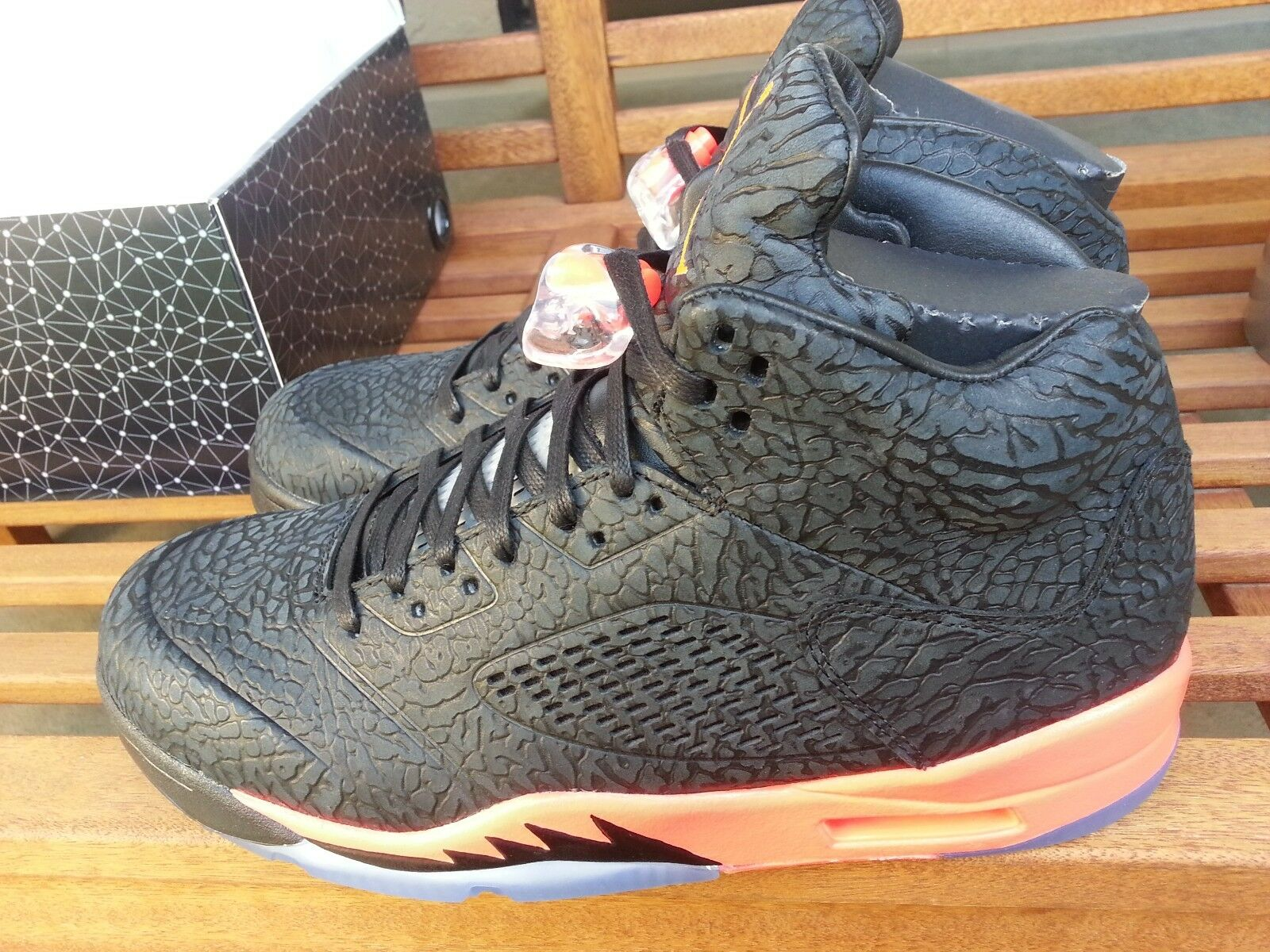 Rare 2013 Air Jordan 5 3Lab5 599581 010 Infrared Size 9.5 DS With Receipt