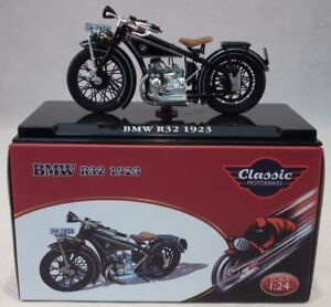 Atlas Editions Bmw R32 1923 Motorcycle Model Scale 1 24 Ixo Ebay