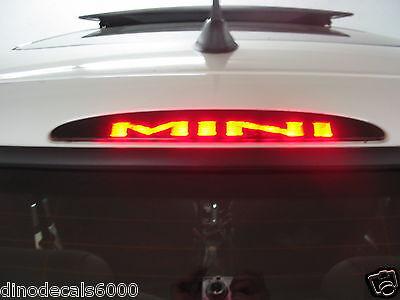 Mini Cooper 3rd brake light decal overlay 02 03 04 05 06 S