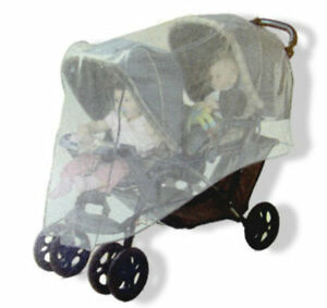 Jolly Jumper Double Tandem and Side by Side Stroller Insect Bug Net Cover 96764