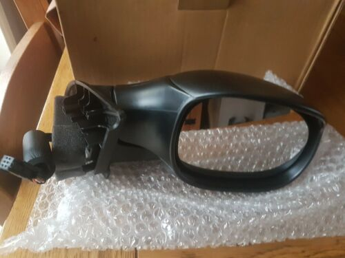 02-10 Right Hand O//S Black Wing Mirror Citroen C3 Mk.1 Electric Excl. Pluriel
