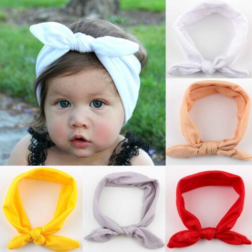 Kids Girl Baby Toddler Bow Headband Hair Band Accessories Headwear Head Wrap Lot