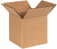 Uline 6x4x3 Corrugated Packing Shipping Boxes Cartons - Best Quality (new Stock)
