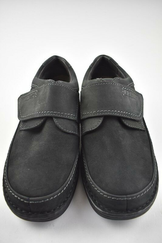 Fretz Men Halbschuh Slipper black Leder in der Gr. 42