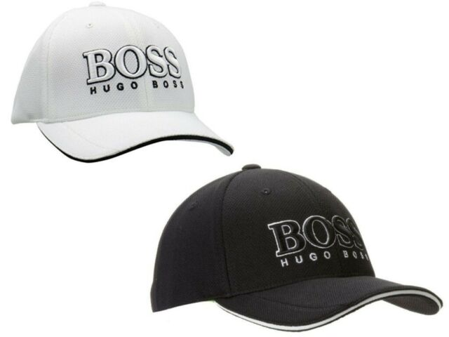 Hugo Boss US Cap Black//White