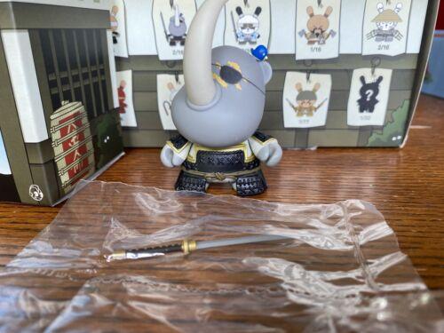 Kidrobot 3inch Dunny Gold Life Huck Gee Samurai Hicks