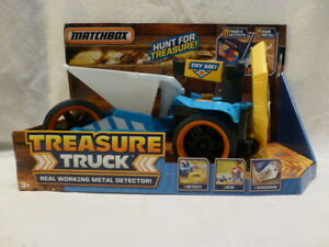 New-Matchbox-Treasure-Tracker-Metal-Detector-Truck-Large-Toy-Lights-amp-Sounds-42