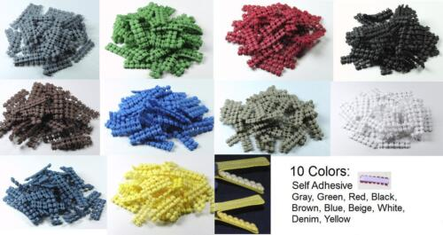 25 Peel and Stick No Non Slip Grips for hair clips bows barrettes self adhesive
