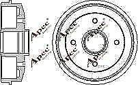 x1-Apec-DRM9109-Brake-Drum-Rear-for-Xsara-ZX-306