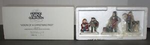 Dept-56-Dickens-Village-Vision-of-a-Christmas-Past-Set-of-3-New-In-Original-Box