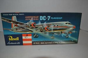 VINTAGE-REVELL-AMERICAN-AIRLINES-DC-7-FLAGSHIP-NEW-OLD-STOCK-H-219
