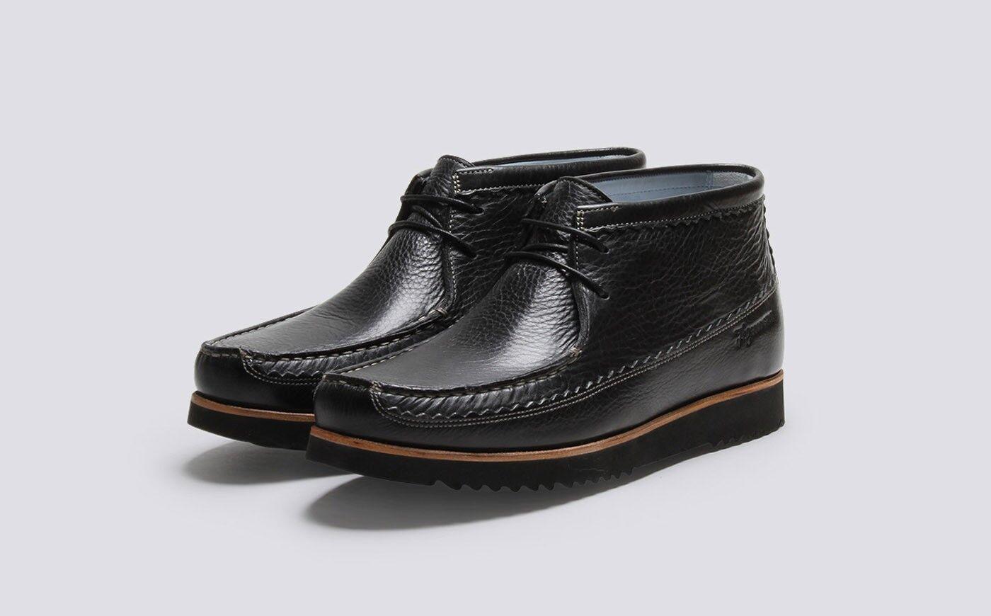 Brand New in Box BNIB Men's Grenson Black Oliver Boot   shoes   UK 10