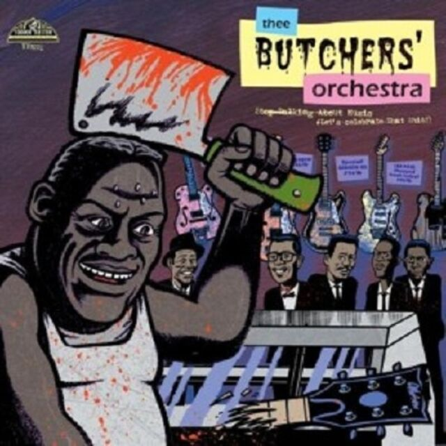 Thee Butchers Orchestra - Stop Talking About Music,Let\'s...  Vinyl LP  Neuware