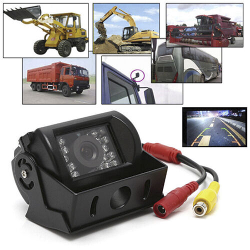 18 IR LED Night Vision Truck Bus Car Rear View Reverse Backup Parking Camera BS