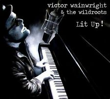 Lit Up! [Digipak] by Victor Wainwright & the Wild Roots (CD, 2011, Wild) NEW
