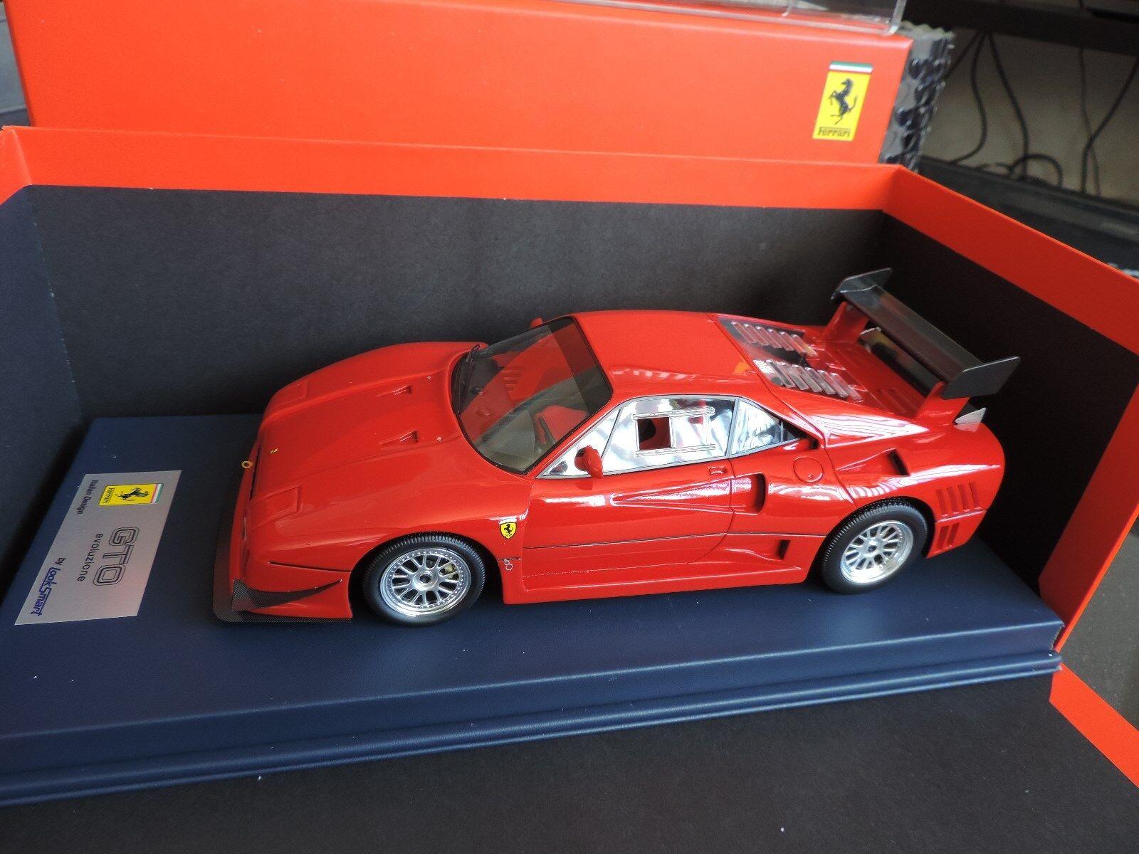 Ferrari 288 GTO Evoluzione Sport Wheels LookSmart 1 18 edition limitée idem BBR
