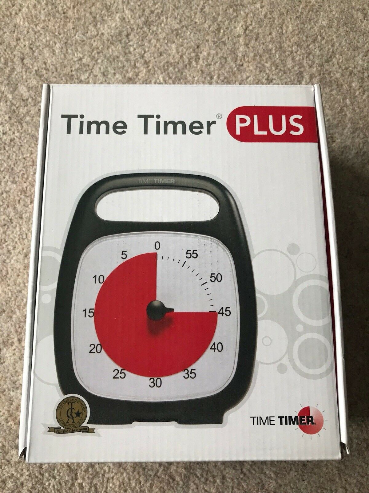 Time Timer Plus 60 minute visual timer classroom home special needs autism ADHD