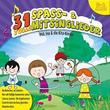 INA & DIE KITA-KINDER PHIL - 31 TOLLE SPAß-UND MITSINGLIEDER  CD NEU