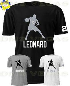e3e40f1fec3 San Antonio Spurs Kawhi Leonard Jersey Tee Shirt Men Size S-5XL ...