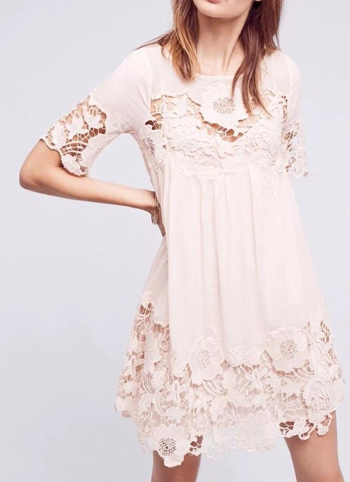 Anthropologie Magnolia Lace Dress by Holding Horses Sz 4 - NWOT