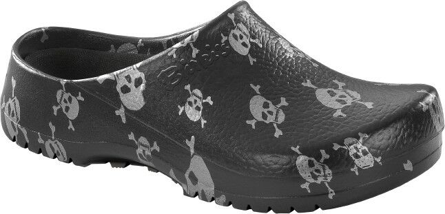 Birkenstock Super - Birki 068611 Clog Damen , Herren  black skull