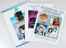 SET OF 3 HASSELBLAD INFORMATION MAGAZINES
