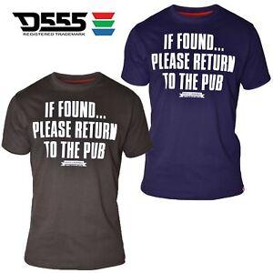Mens Duke Big Size Short Sleeve Funny Pub Graphic Print T-Shirt 100% Cotton 3XL