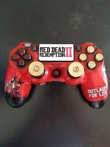 PS4 Dualshock 4 Controlador-red Dead Redemption 2 Edition-Personalizado