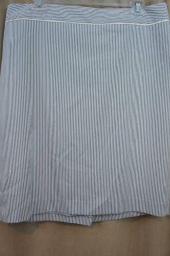 Striped 14 Blue separata Suit Sz Carriera Combo Misty White Skirt Klein Anne Xq7tUnf8U