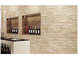 Piastrelle Da Parete Esterno : Piastrelle gres rivestimento parete muro interno esterno pietra