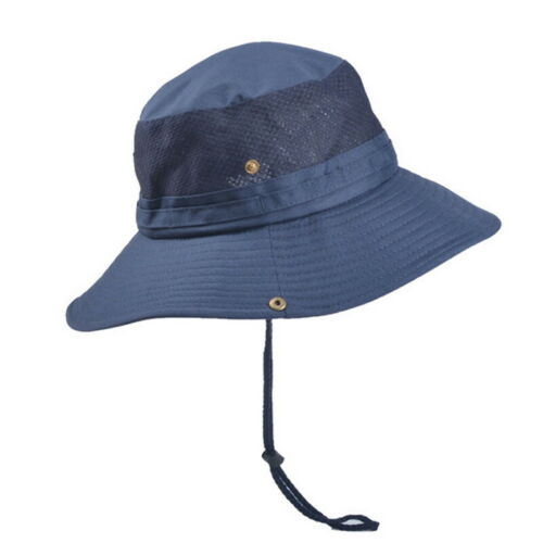 Men/'s Mesh Boonie Hat Packable Wide Brim Sun Hat Outdoor Fishing Hunting Bucket