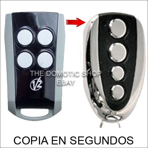 COPIA FACIL EN SEGUNDOS NEW CONTROL  ★ ★ MANDO DE GARAJE COMPATIBLE V2 PHOENIX