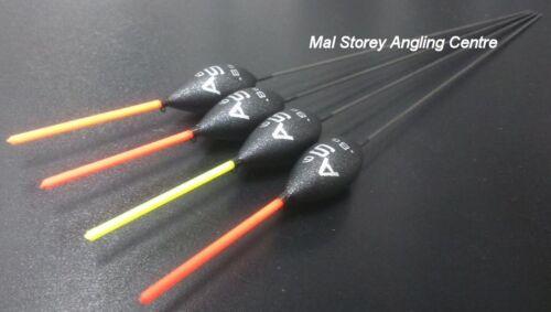 Drennan New AS6 Pole Floats Mixed Tips