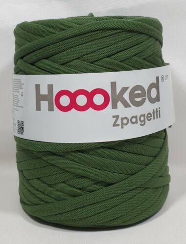ganchillos Hoooked /'zpagetti sustancia Garn polo verde tono/' nuevo tejer 654