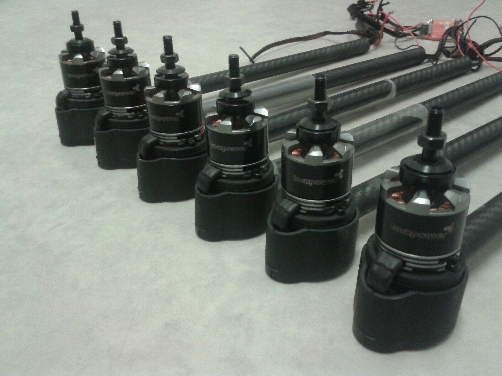 6x torxpower MT2814 710Kv motori brushless T-MOTORE ADVANCE 30A ESC più RC Drone
