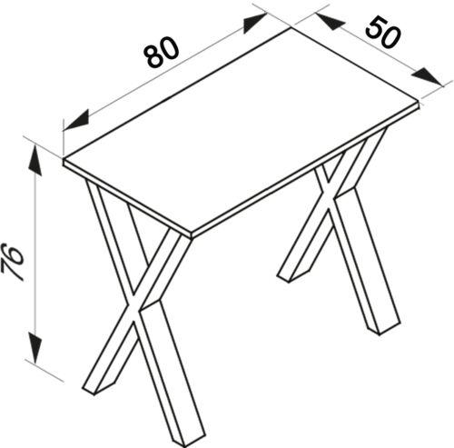 """VCM Schreibtisch Computertisch Arbeitstisch Büro Möbel PC Tisch /""""Lona X/"""""""