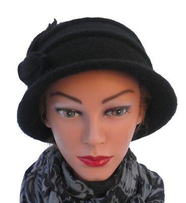 Damenmütze  Wollmütze Stil der 20ziger Jahre Damenmützen Damenhüte Strickmützen