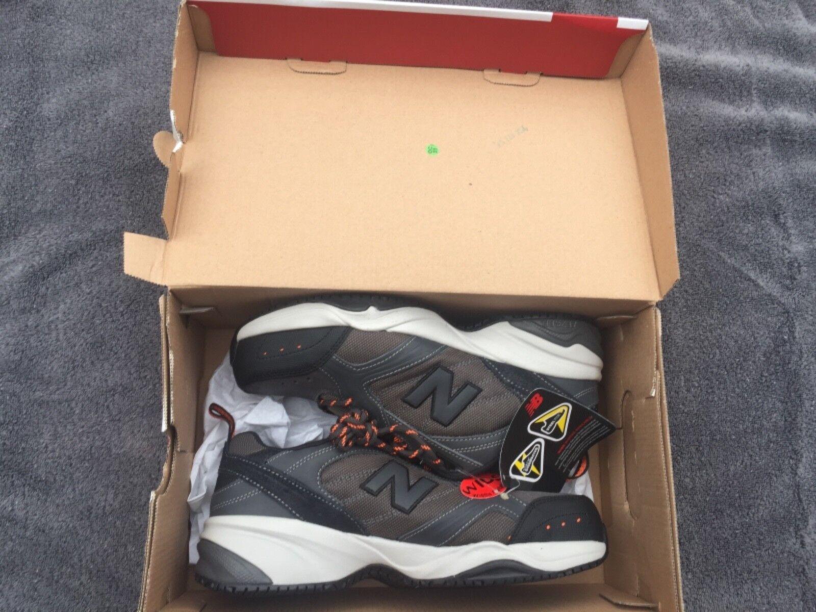 New Balance Men's Steel Toe 627 MID627G Textile Shoe Size:  7