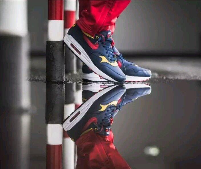 Nuevo Nike de Air Max 1 Premium de Nike edicion limitada de nieve Playa Marina Polo 875844-403 SZ 9 Wild Casual Shoes 0a3a98