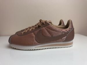 huge selection of 95884 ba853 Image is loading Nike-Classic-Cortez-Premium-Womens-Copper-Brown-UK-