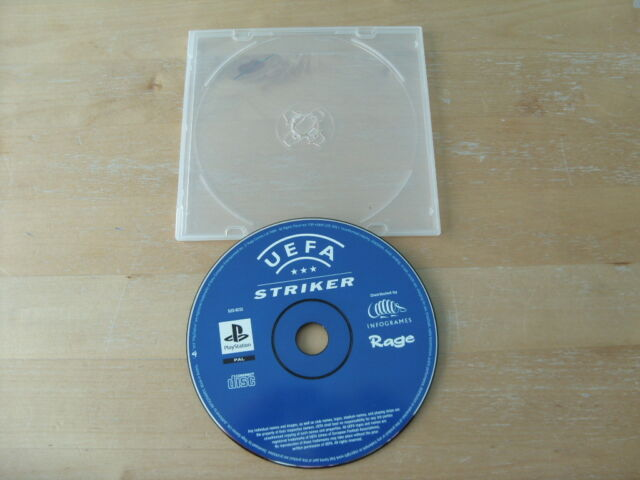 UEFA Striker (Sony PlayStation 1, 1999) - PS1 - DISC ONLY , DISC ONLY